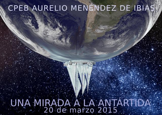 Cartel Una Mirada a la Antartida mn